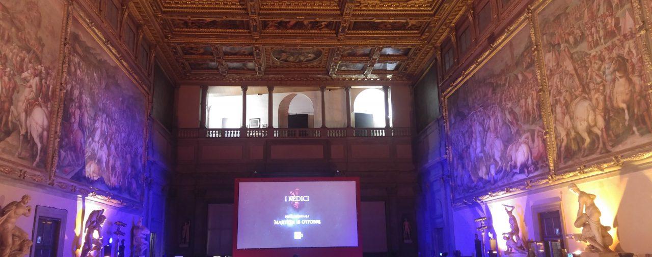 14/10/2016 - Salone '500 - Palazzo della Signoria Firenze Anteprima mondiale fiction 'I Medici'