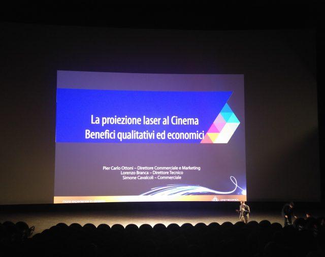 17/02/2017 - Melzo - Multisala Arcadia - La proiezione laser al cinema, benefici qualitativi ed economici