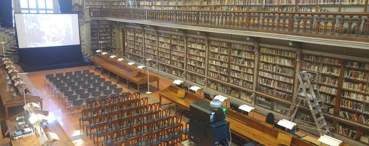 21/03/2017 - Biblioteca Degli Uffizi - Presentazione al pubblico del documentario 'Arte In Guerra'