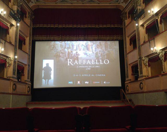 28/03/2017 - Urbino - Teatro Raffaello Sanzio - Anteprima documentario 'Raffaello - Il Principe delle arti'
