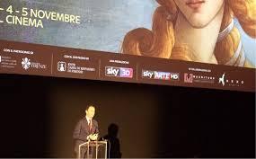 28/10/2015 - Salone '500 - Sigra Film Anteprima 'Firenze e gli Uffizi 3D/4K' - SKY ARTE HD
