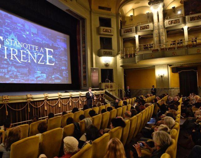 "06/06/2017 Firenze, Cinema Odeon: presentazione della produzione RAI ""Stanotte a Firenze"" by SIGRAFILM Firenze"