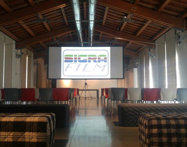 18/04/2017 - Dragon Film Festival - Museo del tessuto Prato - Allestimento by SigraFilmFirenze