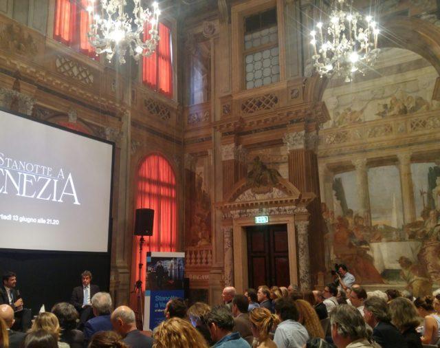 """12/06/2017 - Venezia - Palazzo Labia - Conferenza Stampa di presentazione del documentario """"Stanotte a Venezia"""" allestimento by SigraFilm"""