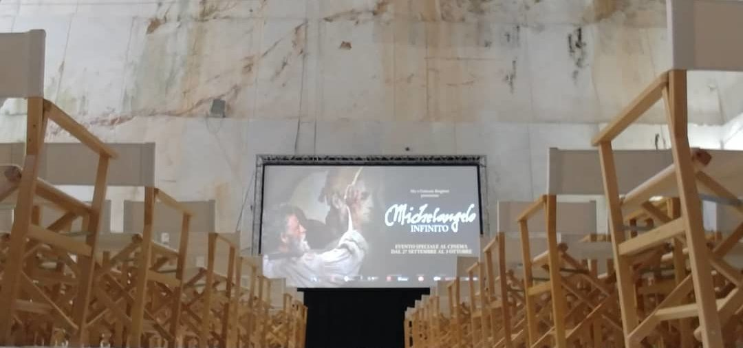 """SETTEMBRE 2018 - ANTEPRIMA EVENTO """"MICHELANGELO - L'INFINITO"""" IN CAVA A CARRARA"""